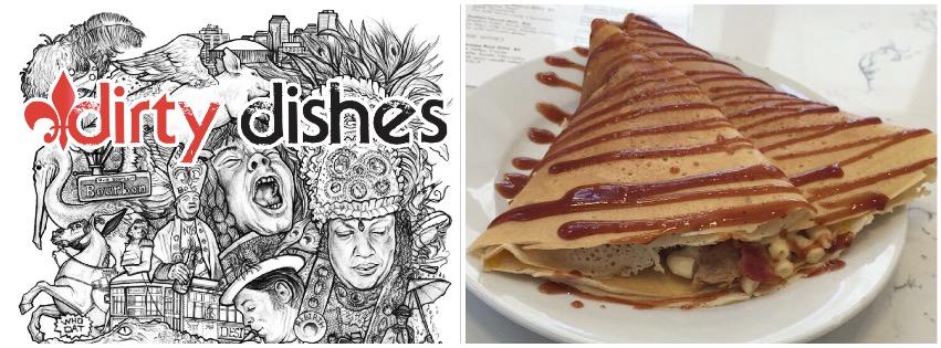 The Munch Crêpe @ Dirty Dishes