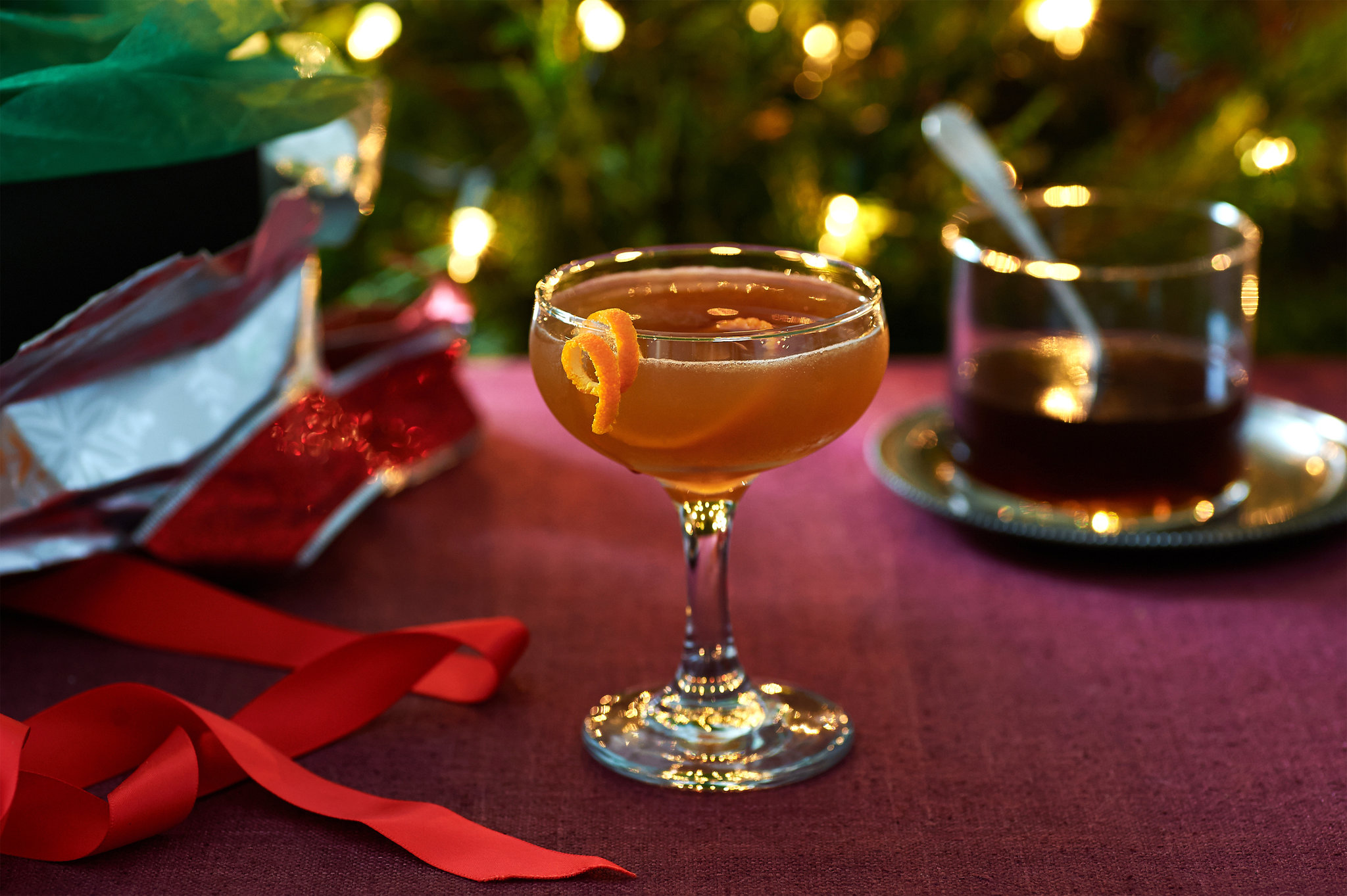 Holiday Whisky Cocktails