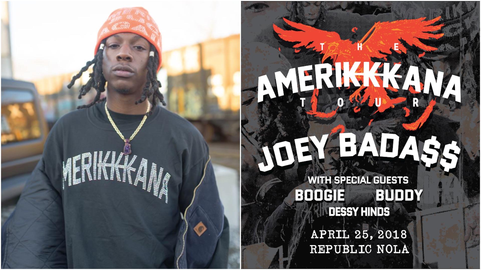 Joey Bada$$ Amerikkkana Tour NOLA