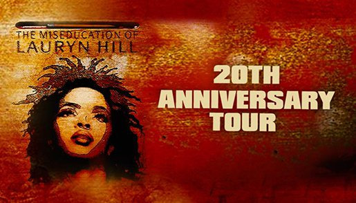Lauryn Hill's 20th Anniversary Tour