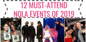 12 NOLA EVENTS