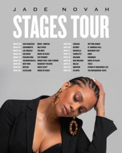 Jade Novah's Stages Tour Artwork